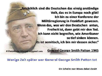 General George Smith Patton 1945